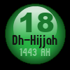 Tody's date in Islamic Calendar