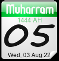 Islamic Calendar Widgets by Alhabib