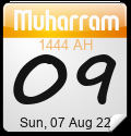 Hijri Calendar by Alhabib