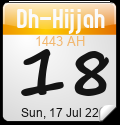Islamic Calendar Widgets